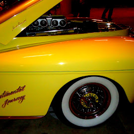 Yellow Classic by Kimberly Oegerle - Transportation Automobiles ( car, wheels, auto, yellow, classic,  )