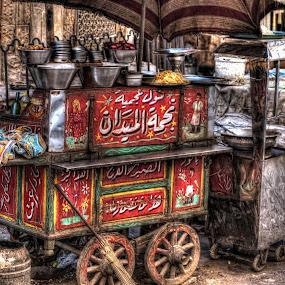 Food Cart by Tawfik Dajani - Food & Drink Cooking & Baking