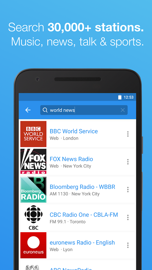 Simple Radio - Free Live FM AM Screenshot 2