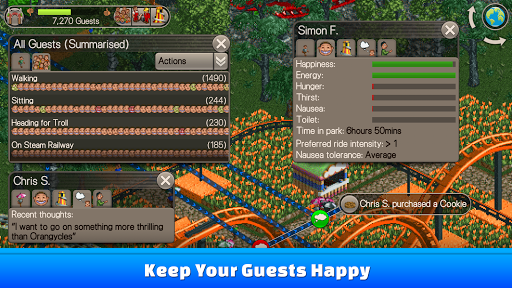 RollerCoaster Tycoon® Classic For PC