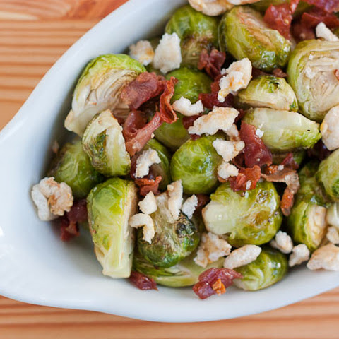 Sweet Roasted Brussels Sprouts With Prosciutto and Kettle Corn