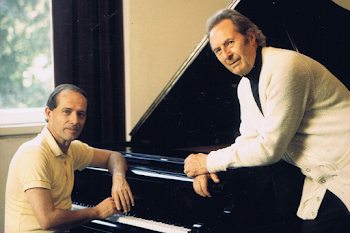 With Carlo Maria Giulini, Artist's Room, Muzikverein, Vienna, 1993 (1)