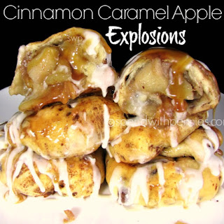 Cinnamon Caramel Apple Explosions