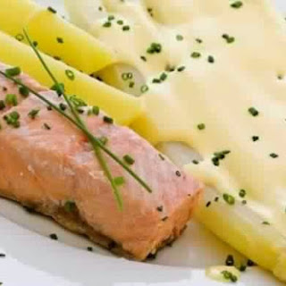 Salmon Baked In Cream