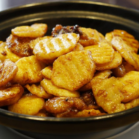Chinese Stir-Fried Potatoes