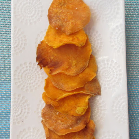 Baked Sweet Potato Chips