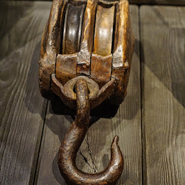 1800 Shipwreck Hook by Wendy Alley - Artistic Objects Antiques (  )