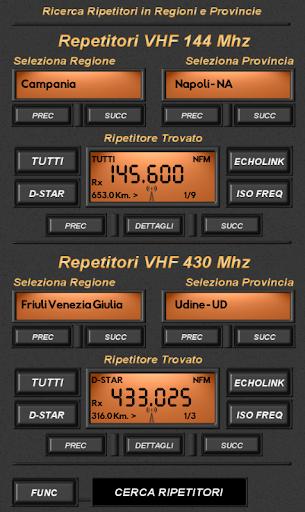 Ripetitori Italiani - screenshot
