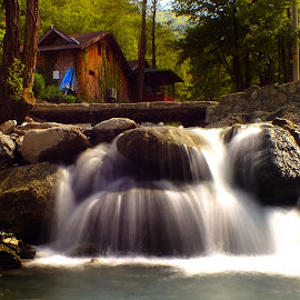 The Waterfall by Arda Erlik - Nature Up Close Water ( turkey )