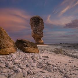 Umbrella Rock by David Loarid - Nature Up Close Rock & Stone