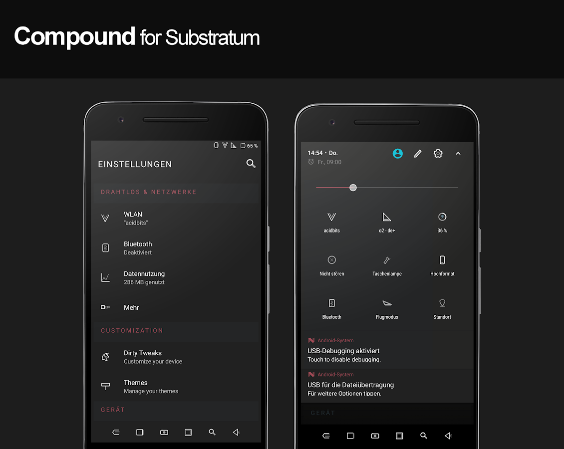Compound for Substratum (Android Oreo/Nougat) Screenshot 3