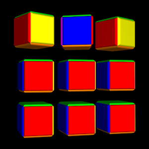Cover art ROT8 CUBES pro