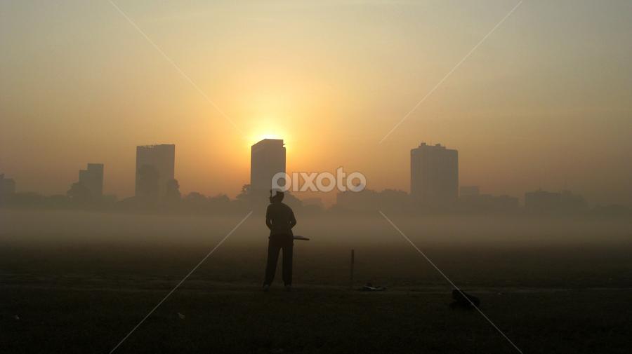 opener by Arup Chowdhury - City,  Street & Park  Street Scenes