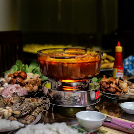 Seafood Hot Pot  by Tran Ngoc Phuc Ngoctiendesign - Food & Drink Cooking & Baking (  )