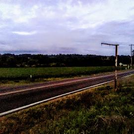 CountrySide Blues by Carlo McCoy - Transportation Roads ( countryside, oregon, portland, travel, roads,  )