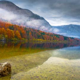 Bohinj lake by Branko Cesnik - Landscapes Travel