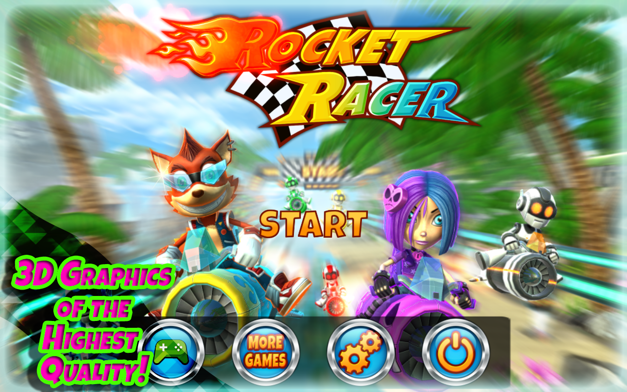 Rocket Racer Screenshot 0