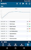 Screenshot of Russian Premier League
