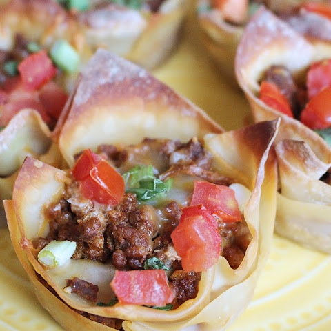 Beef Taco Cups