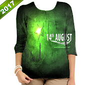 Pakistan Flag Tshirts Editor 2017 APK for Bluestacks