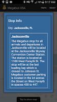 Screenshot of Megabus USA