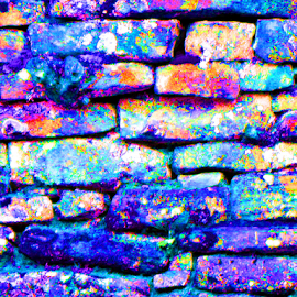 Rock Wall by Kaye Petersen - Abstract Patterns ( abstract, pattern, colorful, west virginia, rocks, wall, babcock state park,  )