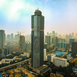 Gama Tower by Irfan Firdaus - Buildings & Architecture Office Buildings & Hotels ( travel photography, city, nature, cityscapes, landscape,  )