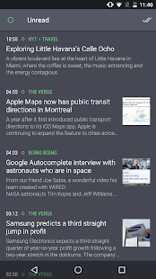 Newsfold | Feedly RSS reader Screenshot