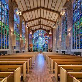Alice Millar Chapel Stained Glass by John Williams - Buildings & Architecture Places of Worship ( 2016, architectural detail, architecture, chicago, stained glass, places of worship )