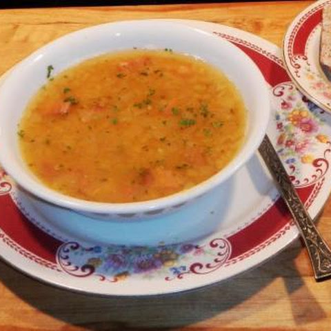 YELLOW SPLIT PEA SOUP a Swedish delight !