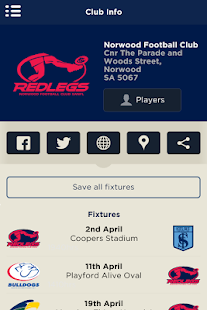 The Official Norwood FC App- screenshot thumbnail