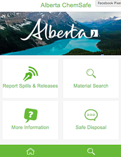 Alberta ChemSafe - screenshot