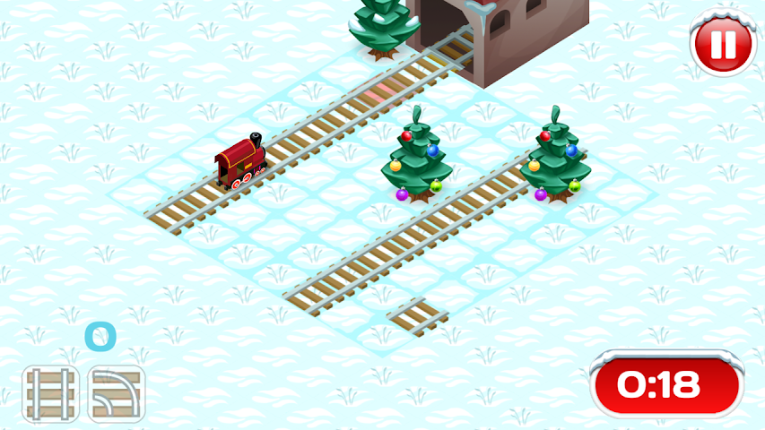 android Xmas Railway Screenshot 1