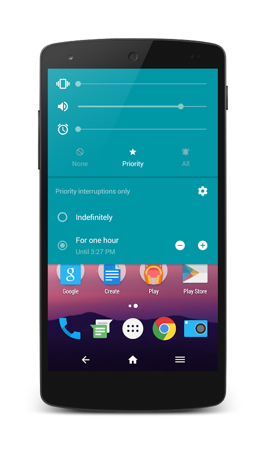 HoloCon - Android N Style CM13 Screenshot 2