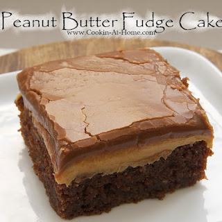 Peanut Butter Fudge Cake Recipes