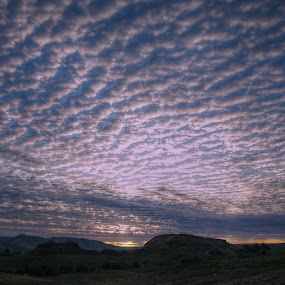 by Jennifer Holmes - Landscapes Cloud Formations ( clouds, hills, mountain, sky, cloudscape, sunrise )