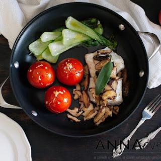 Mushroom Butter Sauce Fish Recipes