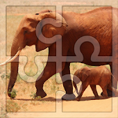 Game Best Free Puzzles for Kids: Elephants Jigsaw APK for Windows Phone