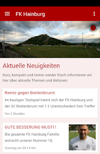 FK Hainburg - screenshot