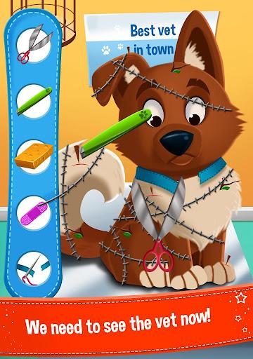 Pricess Fairy Dog Care - screenshot