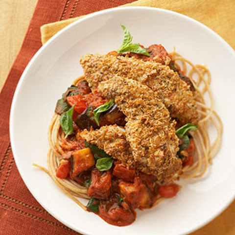 Crisp Chicken Parmesan