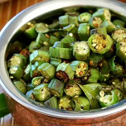 South Indian Okra (Vendakka) Curry by DK on Jul 23, 2012