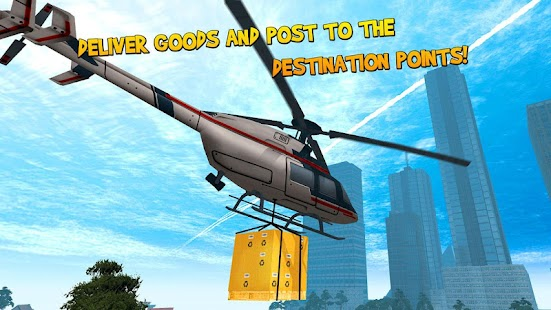 Helicopter Flight Simulator 3D - screenshot