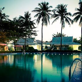 Swimming Pool  by Adi Mumun'k - Landscapes Travel ( makassar, travel, hotel, landscape, swimming )