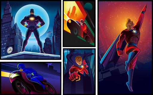 Superhero Maker HD - screenshot