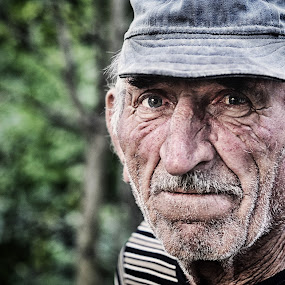 Time of Sadness by Pavle Randjelovic - People Portraits of Men