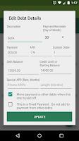 Screenshot of Debt Planner & Calculator
