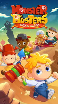 Monster Busters: Hexa Blast APK screenshot thumbnail 16