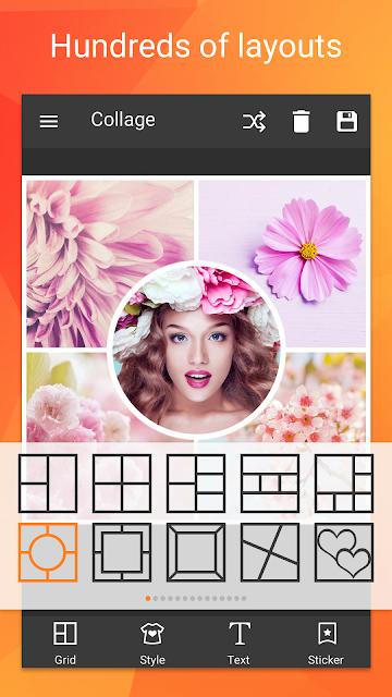 Photo Collage Editor screenshots