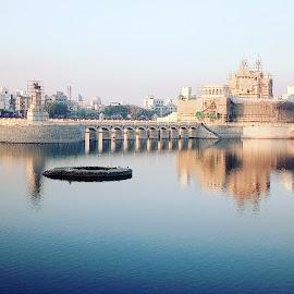 Beautiful Lakhota Lake, Jamnagar, Gujarat by DrHemali Vora - Instagram & Mobile Android